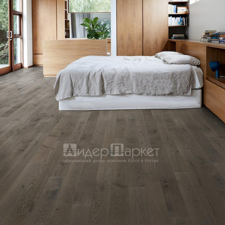 Дуб Карбон Черс  (Kahrs Oak Carbon)