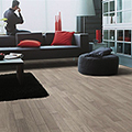 Grey wood floors will add the feel of stability and harmony to your home